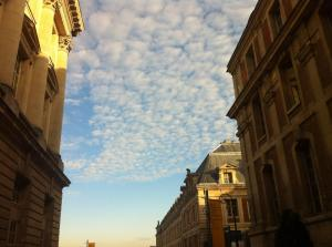 Palácio de Versailles, em fevereiro de 2012. Dia glorioso de inverno
