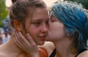 Cena do filme la Vie d'Adèle ou Azul é a Cor Mais Quente